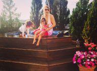 Mariah Carey entra de roupa na piscina com filhos: 'Primeiro momento no verão'