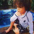 Mariah Carey postou uma foto do filho Morocon