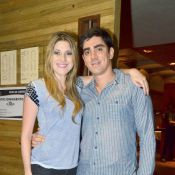 Dani Calabresa diz que sofre com distância de Marcelo Adnet: 'Muita saudade'