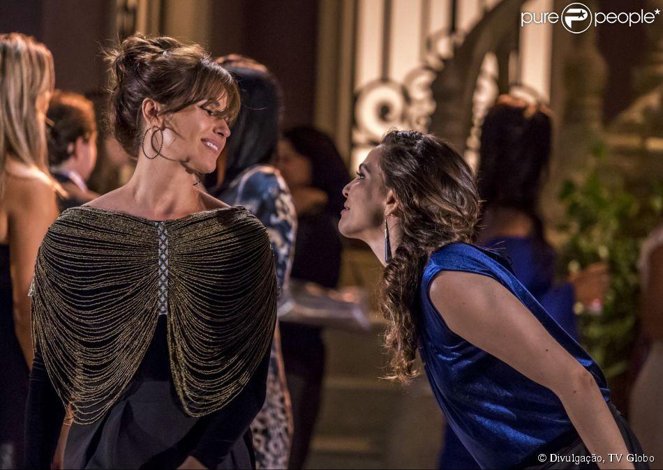 Giovanna Antonelli comenta beijo entre Clara e Marina: 'Zero expectativa' (11 de junho de 2014)