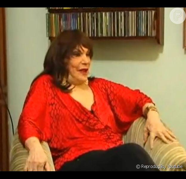 A cantora Marlene morreu, aos 89 anos, nesta sexta-feira, 13 de junho de 2014