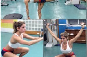 Deborah Secco chega aos 50kg e treina 6 x por semana para ficar 'magra e sarada'