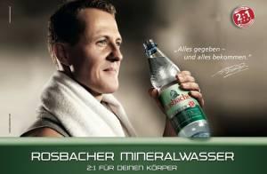 Michael Schumacher não renova contrato com patrocinador de longa data