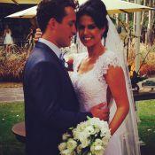 Rodrigo Andrade se casa com a empresária Joyce de Paulo em SP