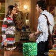 Luiza (Bruna Marquezine) foge da loucura de Laerte (Gabriel Braga Nunes) para a casa dos pais e quase provoca uma tragédia, na novela 'Em Família'