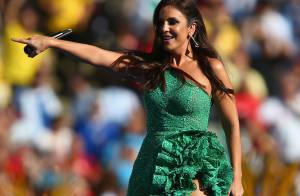 Ivete Sangalo usa vestido com 20 mil cristais na Copa: 'Valor inestimável'