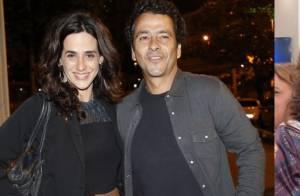 Mariana Lima repete look usado no 'Encontro com Fátima' em estreia de 'O Rebu'