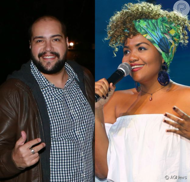 Tiago Abravanel homenageou Gaby Amarantos neste domingo, 10 de junho de 2018, no quadro 'Show dos Famosos', do 'Domingão do Faustão'