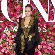Thalía na 72ª edição do Tony Awards, realizada no Radio City Music Hall, em Nova York, neste domingo, 10 de junho de 2018