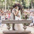 Isis Valverde e André Resende se casaram em uma cerimônia romântica no Rio de Janeiro