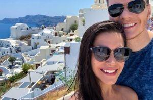 Thais Fersoza e Michel Teló viajam à Grécia no Dia dos Namorados: 'Sonho'