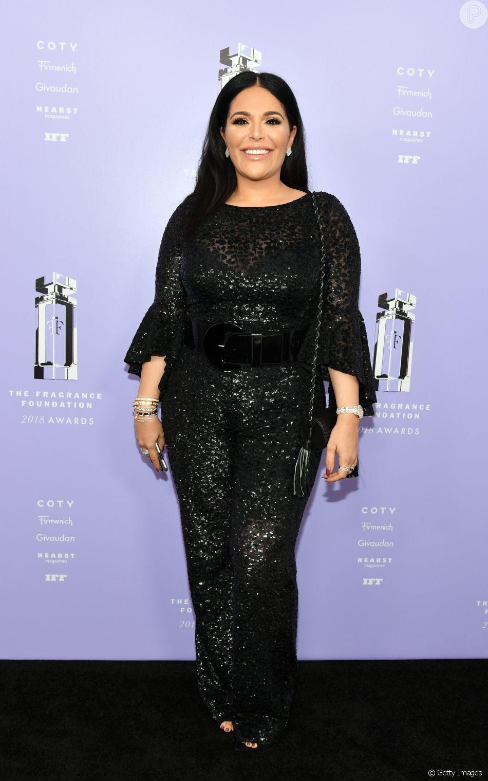Mona Kattan no 2018 Fragrance Foundation Awards, realizado