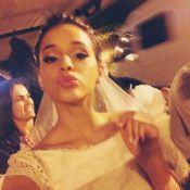 Bruna Marquezine se veste de noiva para cena de casamento de Luiza. Veja fotos!