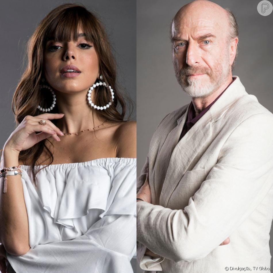 Rochelle (Giovanna Lancellotti) revela para a família que Severo (Odilon Wagner), mesmo falido, guarda dinheiro em casa na novela 'Segundo Sol'