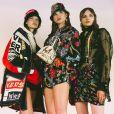 Versace apresenta nova coleção durante a Semana de Moda Masculina em Milão no sábado (16)