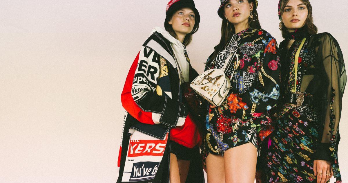 c50787f5d9c00 Kendall Jenner e Bella Hadid desfilam pela Versace com coleção jovem e  colorida - Purepeople