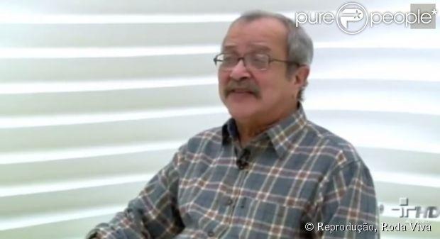 Escritor João Ubaldo Ribeiro morre, aos 73 anos, no Rio de Janeiro, em 18 de julho de 2014