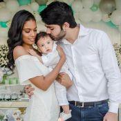Filho de Aline Dias e Rafael Cupello, Bernardo é batizado: 'Nosso amor'. Fotos!