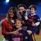 Fofura! Lionel Messi ganha torcida do filho caçula antes de jogo: 'Vamos, papi'