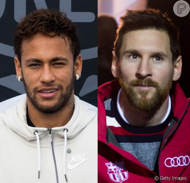 Neymar parabeniza Messi pelo aniversário de 31 anos neste domingo, dia 24 de junho de 2018