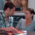 Afonso (Victor Pecoraro) tenta conquistar Luísa (Milena Toscano), no capítulo que vai ao ar segunda-feira, dia 2 de julho de 2018, na novela 'As Aventuras de Poliana'
