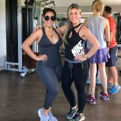 Personal detalha treino de Simone: 'Mescla aeróbio com exercícios de musculação'