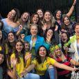 Angélica tem reunido amigos para assistir aos jogos do Brasil na Copa do Mundo
