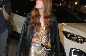 Poderosa! Marina Ruy Barbosa capricha com look dourado em aniversário de 23 anos