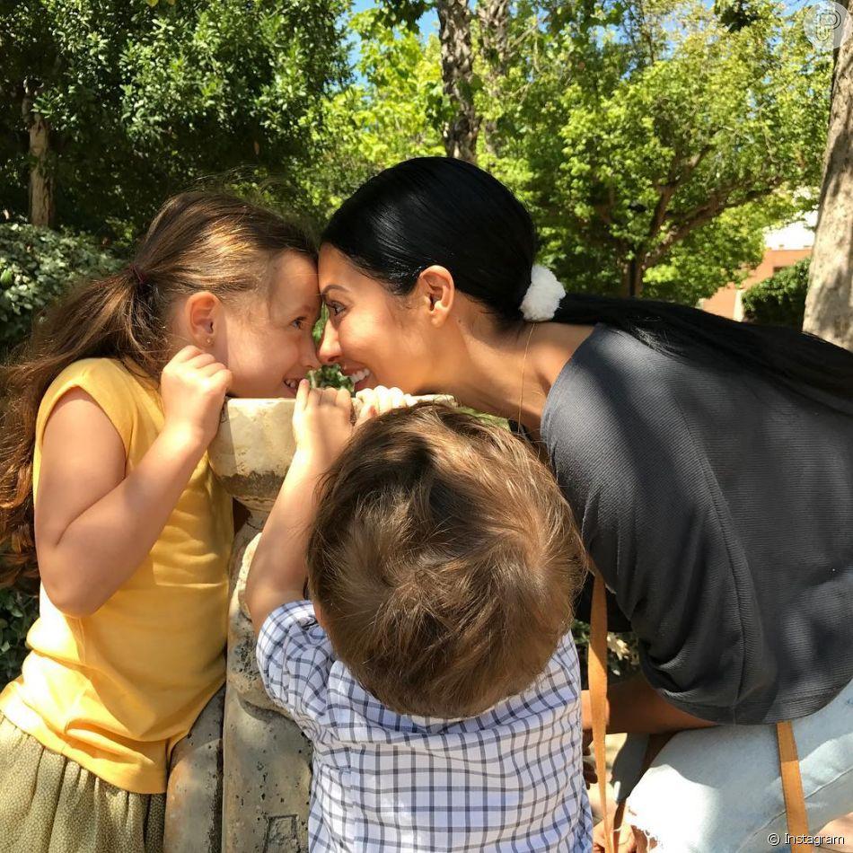 Simaria compartilhou um vídeo dos filhos, Giovanna e Pawel, nas Maldivas em seu Instagram, nesta segunda-feira, 2 de julho de 2018. Veja a seguir!