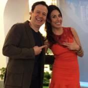 Giselle Itié apresenta 'Hoje em Dia' no lugar de Chris Flores: 'Novo desafio'