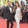 Izabel Goulart fez primeira aparição publica com Kevin Trapp durante o tapete vermelho do Festival de Cannes em 2017