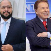 Silvio Santos incentiva o neto Tiago Abravanel na final do 'Show dos Famosos'