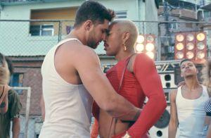 Modelo fala de beijo em Nego do Borel no clipe 'Me Solta': 'Acabou rolando'