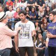 Rodrigo Simas revela estar dando dicas de dança ao irmão Bruno Gissoni, que estreia faz parte do elenco do 'Dança dos Famosos', que estreia no próximo dia 3 de agosto