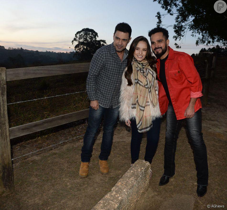 Larissa Manoela estrela novo clipe de Zezé di Camargo e Luciano, a música 'Reggae in Roça', nesta quarta-feira, 11 de julho de 2018