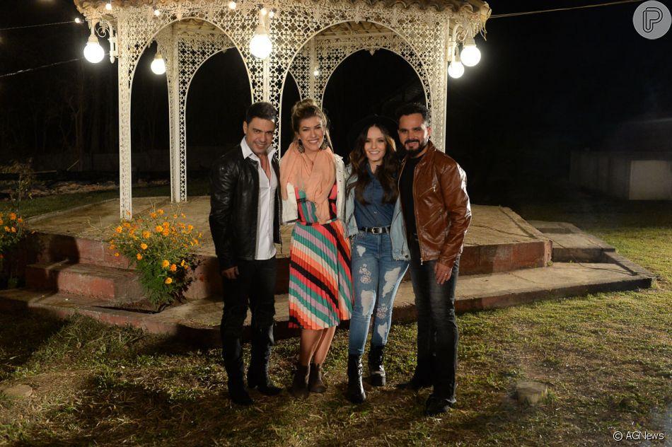a13d39b262400 Larissa Manoela e Lorena Improta estrelam clipe de Zezé di Camargo e Luciano,  a música  Reggae in Roça , nesta quarta-feira, 11 de julho de 2018