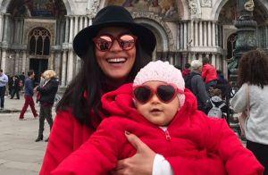 Carol Castro comemora retorno às novelas após ser mãe: 'Estava com saudade'