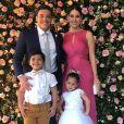 Wesley Safadão fez uma festa para comemorar os 4 da filha nesta segunda-feira, 17 de julho de 2018