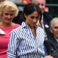 Guarda-roupa milionário: Meghan Markle usa calça e camisa Ralph Lauren para jogo de tênis em Wimbledon