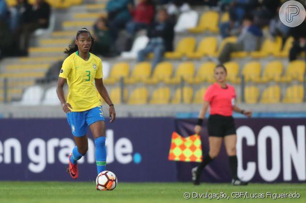 Com apenas 20 anos, Daiane é a caçula da seleção brasileira