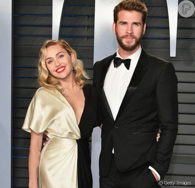 Liam Hemsworth afastou os rumores de separação de Miley Cyrus em seu Instagram, nesta quinta-feira, 19 de julho de 2018