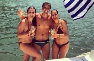 Reynaldo Gianecchini mostra corpo em forma durante férias na Grécia