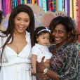 Yolanda viu a mãe, Juliana Alves, desfilar em evento de moda realizado na Bahia