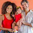 Juliana Alves é mãe da pequena Yolanda, de 10 meses, fruto do relacionamento com Ernani Nunes