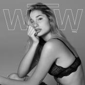Sasha Meneghel usa lingerie de renda e destroyed jeans em ensaio fotográfico