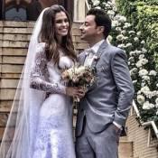 Emilio Orciollo Netto se casa com Mariana Barreto: 'Dia mais feliz da vida'