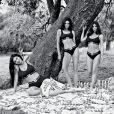 Esta é a segunda Campanha CK com irmãs Kardashian-Jenner em que participam Kourtney, Khloé, Kim, Kylie Jenner e Kendall Jenner