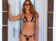 Na Grécia, Marina Ruy Barbosa elege biquíni cortininha ao curtir piscina. Fotos!