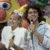 Junno Andrade comemora ao aparecer no 'Vídeo Show' com Xuxa: 'Nem acreditei'
