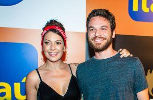 Fabiula Nascimento se emociona ao falar de Emílio Dantas na TV: 'Te amo muito'